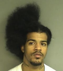 Police mugshot of David Davis