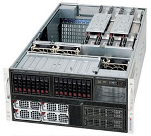 Super Micro 8-Way Super Server