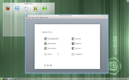 openSUSE LibreOffice
