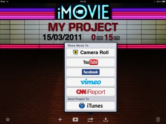 Apple iMovie 1.2