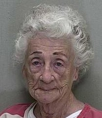Marion County Sheriff's department mugshot of Helen Staudinger