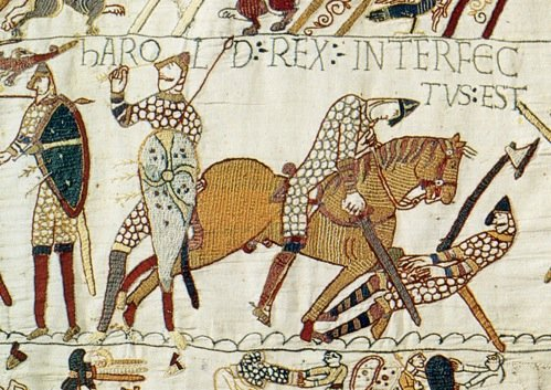 Death of Harold on Bayeux Tapestry