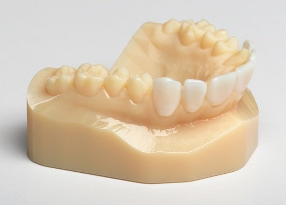Printed teeth