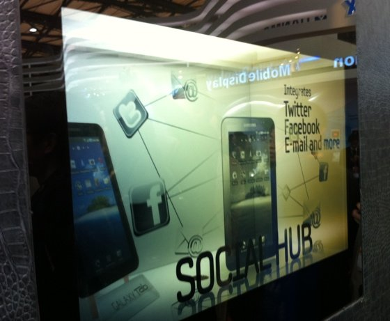 Samsung see-through LCD