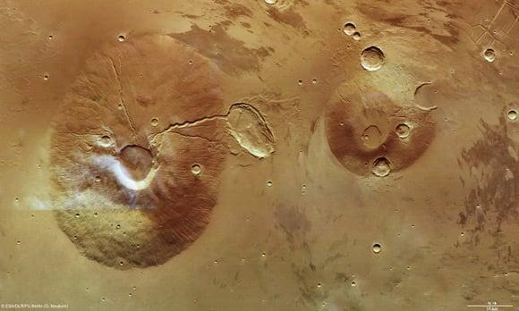 Mars Express image of Cerauniu