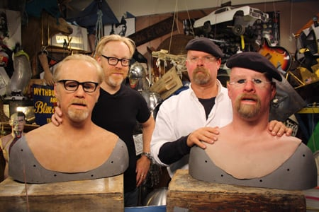 MythBusters co hosts, Photo: Discovery Channel