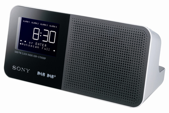 sony reveals dab radio range the register. Black Bedroom Furniture Sets. Home Design Ideas