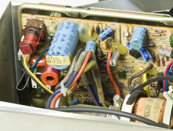 Osborne 1, second version - CRT power supply