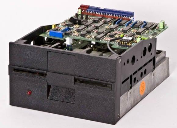 Osborne 1, second version - 5.25-inch floppy drive, front