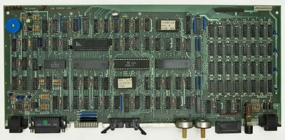 Osborne 1, second version - logic board