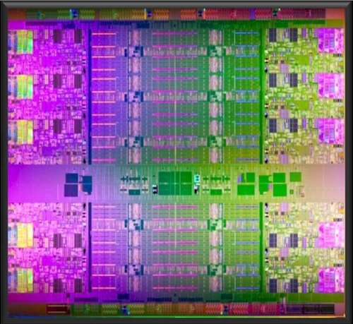 Intel Westmere-EX Xeon E7 chip
