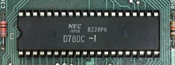 Osborne 1, second version - Z80 microprocessor