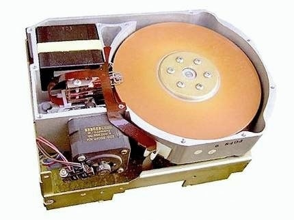 Seagate ST-412 disk drive