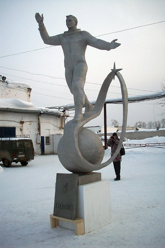 The statue of Yuri Gagarin. Photo: Andrea Rose/British Council