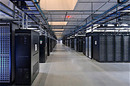 Facebook data center - interior
