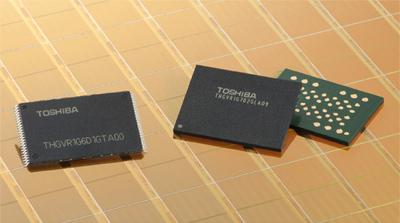 Корпорация Toshiba представила микросхемы флеш-памяти NAND нового поколения, предназначенные для...