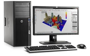 HP Z210 Convertible Minitower (CMT) workstation
