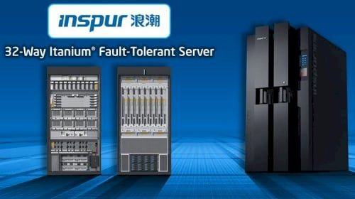 Intel IDF Beijing Inspur Itanium server