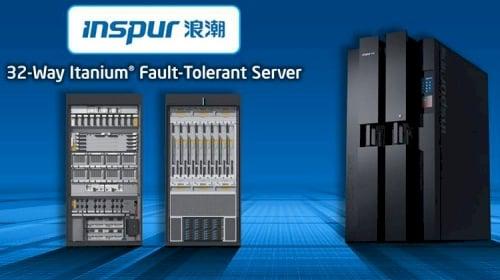 Intel IDF Beijing Inspur Itanium server