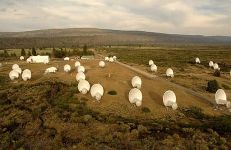 The Allen Telescope Array, photo: ATA