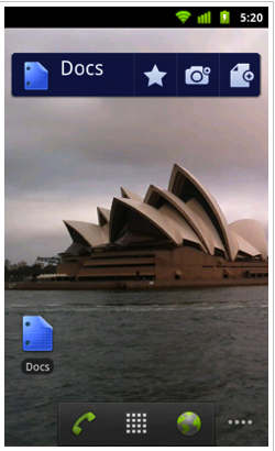 Google Docs Android App