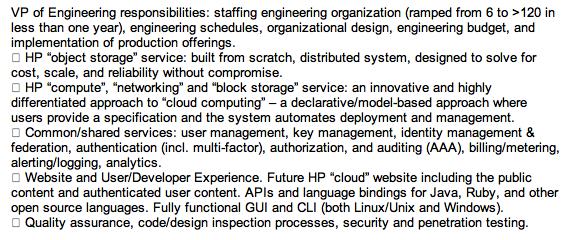 HP VP Scott McClellan Linkedin Profile