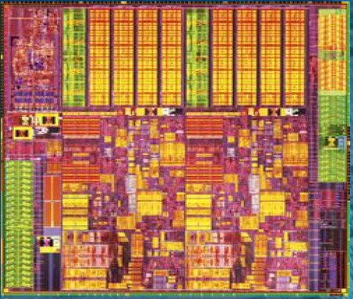 Intel Ivy Bridge processor die