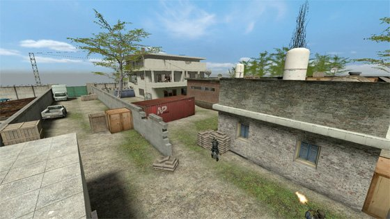 Counter-Strike map of bin Laden's compound