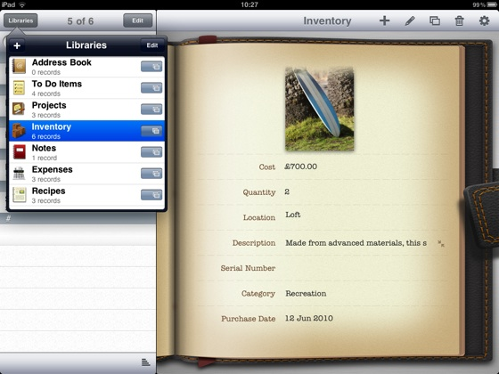 FileMaker Bento