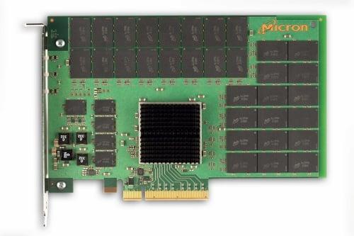 Micron P320h PCIe flash card