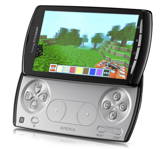 Xperia Play with Minecraft