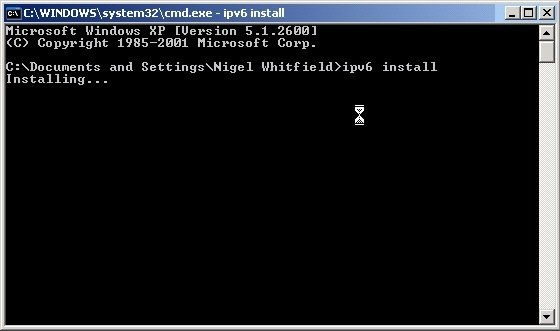 Step 3c IPv6 install