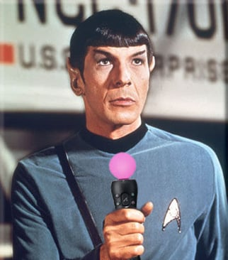 Spock with Move controller