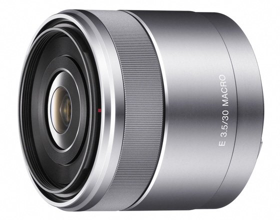 Sony NEX Alpha e-mount SEL30M35 macro lens