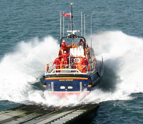 RNLI boat