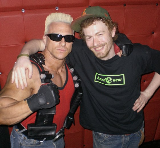 Duke Nukem and Caleb