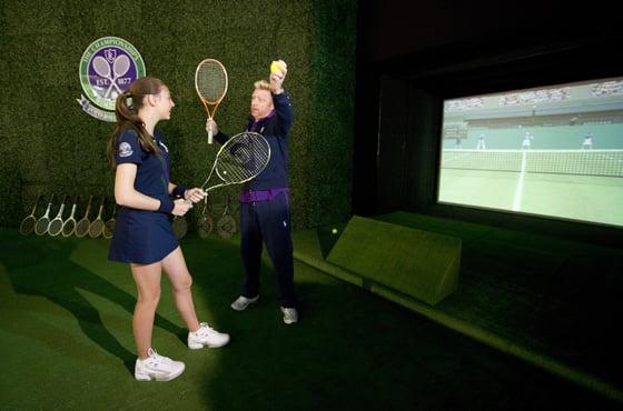 Ralph Lauren Wimbledon Serving Challenge