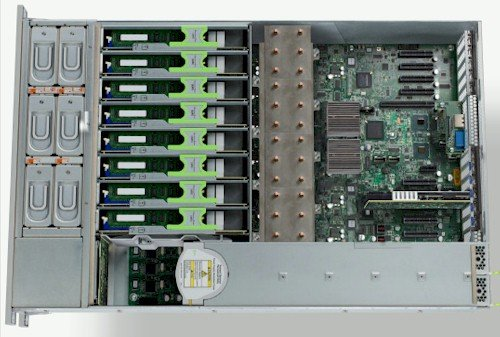Oracle Sun Fire X4470 M2 internal