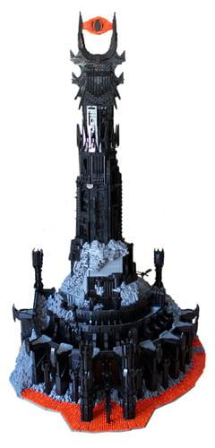 Lego Barad-dûr by Kevin J Walter