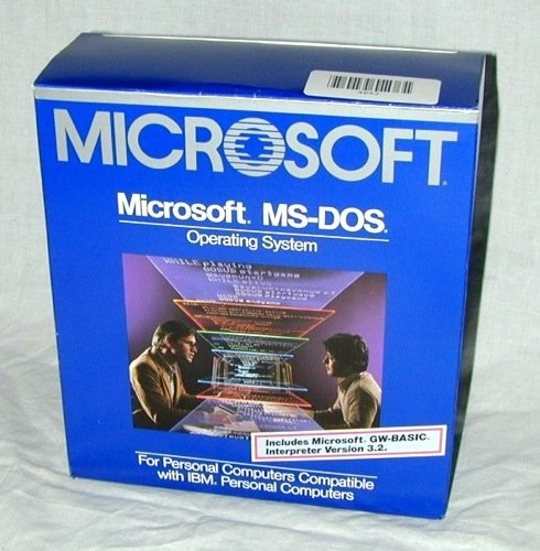 MS-DOS 3.2 box