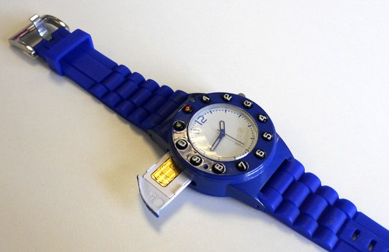 Burg 5 watch phone