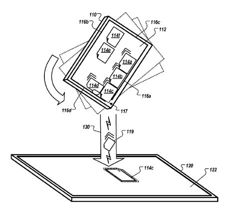 Apple gesture-based user interface patent applica