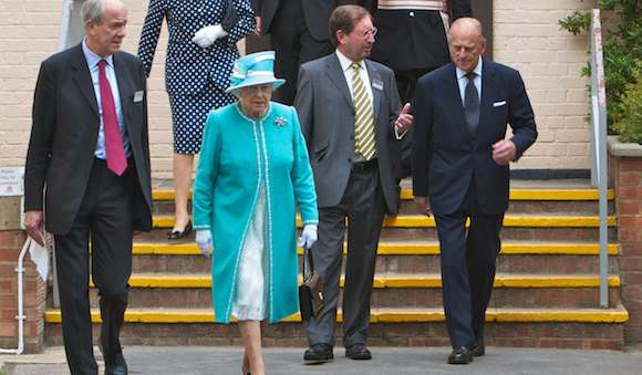 The Queen and Prince Philip visit Bletchley Park