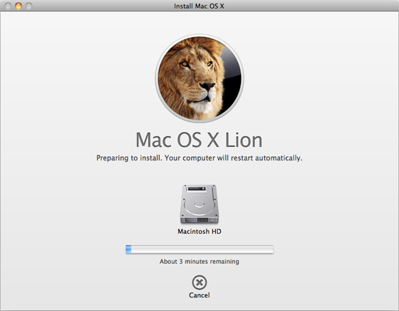 Apple Mac OS X 10.7 Lion
