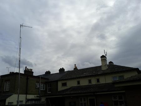 Picture of Neul antenna and Arqiva monitoring kit