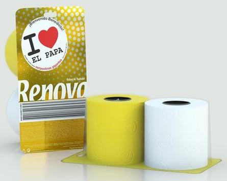 Renova's Papal bog roll