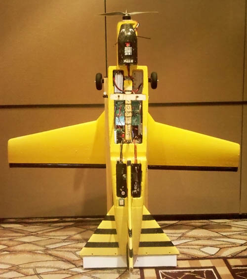 WASP flying spy drone