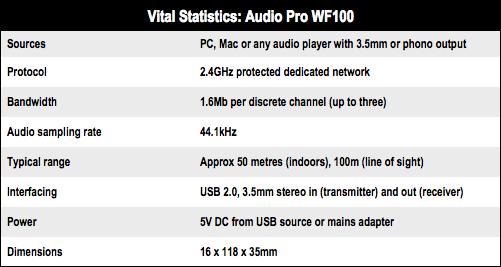 Audio Pro WF100q