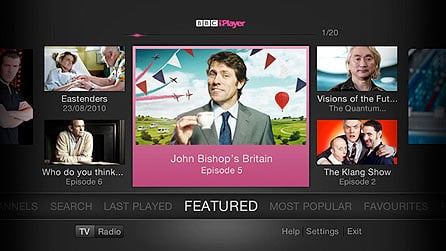 BBC iPlayer refresh for TV