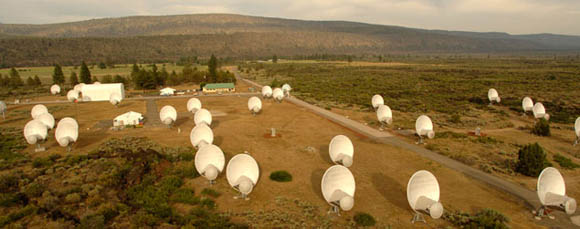 SETI's Allen Telescope Array